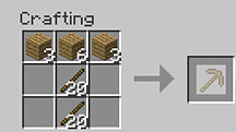 how to build a crafting table in minecraft tsmc