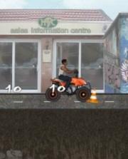 Şehirde ATV Yarışı