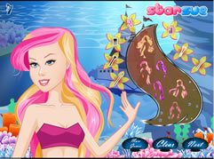 Güzel Deniz Kızı Barbie