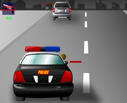 Kızgın Polis Arabası Oyunu