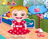 Hazel Bebek Disneyland Oyunu