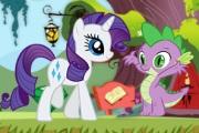 Pony Rarity ve Spike