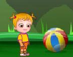 Hazel Bebek Oyuncak Topla Oyunu