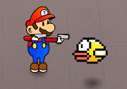 Mario ve Flappy Bird Savaşı Oyunu