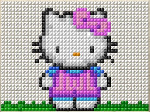 Hello Kitty Nakış