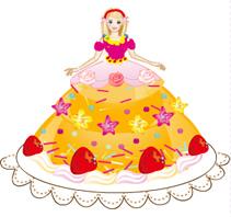 Pasta Giysili Barbie