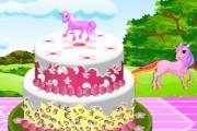 Pony Doğum Günü Pastası Oyunu