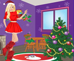 Barbie Evde Yılbaşı Partisi