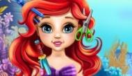 Bebek Ariel Saç Kesimi Oyunu