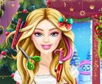 Barbie Yılbaşı Saç Kesimi