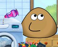 Pou Çamaşır Yıkama