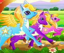 Ponyler Yarışıyor
