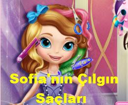 Sofia'nın Çılgın Saçları Oyunu