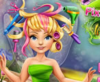 Tinker Bell Ve Çılgın Saçları Oyunu