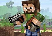 3D Minecraft FPS Oyunu
