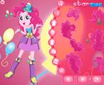 Bayan Kahkaha Pinkie Pie Giydirme