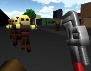 Minecraft: Zombi Blokları 3D Oyunu
