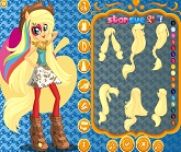 Rainbow Rocks Applejack Giydirme