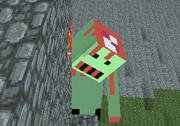 3D Minecraft Zombi