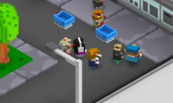 Minecraft Şehri Oyunu