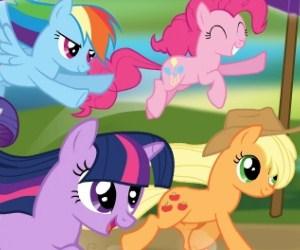 My Little Pony Yarışı Oyunu
