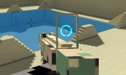 3D Minecraft FPS 3 Oyunu