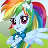Equestrialı Rainbow Dash