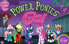 Power Ponies Go Oyunu
