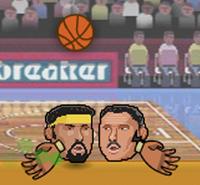 Topçu Kafalar Basketbol Oyunu