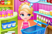Barbie Pasta Alışverişi Oyunu
