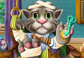 Konuşan Kedi Tom İyileştirme Oyunu