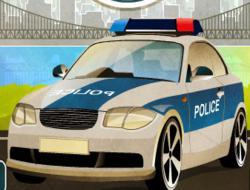 Polis Arabası Sürme Oyunu
