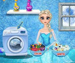 Prenses Çamaşır Yıkama