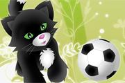 2 Kişilik Kedi Futbolu Oyunu