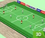 2 Kişilik 3D Langırt Maçı