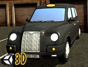 3D Londra Taksi Şoförü