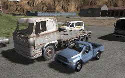 3D Eski Araba Sürme