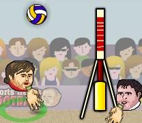 Koca Kafalar Voleybol Oyunu