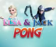 Elsa Ve Jack Masa Hokeyi Oynuyor