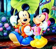 Mickey ve Kız Kardeşi