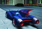 3D Batman Arabası Oyunu