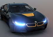 3D BMW i8 Simülatörü Oyunu
