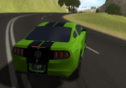 3D Ford Mustang Drift