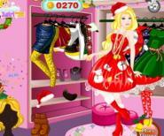 Barbie İçin Yılbaşı Alışverişi Oyunu