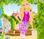 Barbie ile Dantel Modası Oyunu