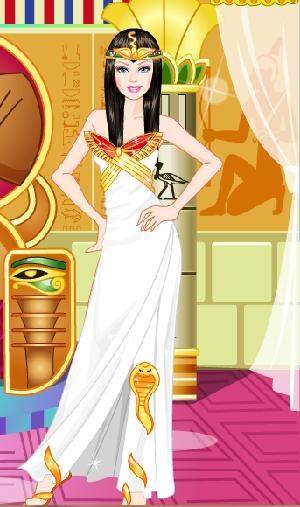 Barbie Mısır Prensesi Oyunu