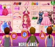 Barbie'nin Butiği Oyunu