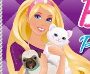 Barbie'nin Hayvan Kuaförü Oyunu
