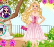 Barbie'nin Tül Elbisesi Oyunu