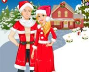 Barbie Ve Ken'in Yılbaşı Süslemesi Oyunu